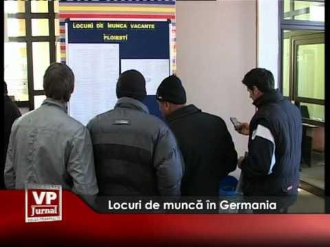 Locuri de muncă în Germania
