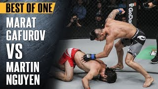 ONE: Best Fights | Marat Gafurov vs. Martin Nguyen | Nguyen Knocks Out Gafurov | Aug 2017