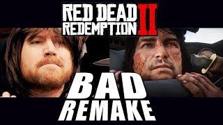 Red Dead Redemption 2 Trailer Bad Remake SIDE-BY-SIDE Comparison