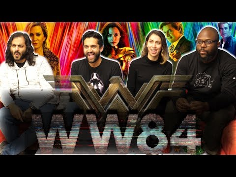 Wonder Woman 1984 - Official Trailer - Group Reaction