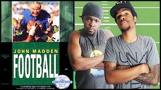 THE FIRST MADDEN EVER ON CONSOLE! - John Madden Football (1990) Gameplay   #ThrowbackThursday