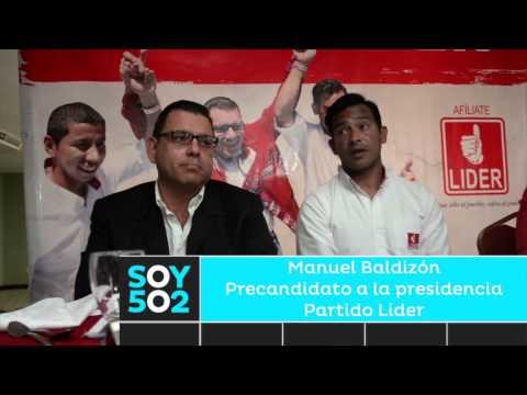 Manuel Baldizón reaparece de la mano del Pescado Ruiz