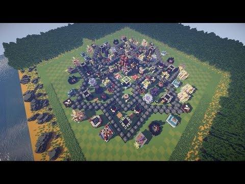 clash of clans in minecraft every building with every upgrade