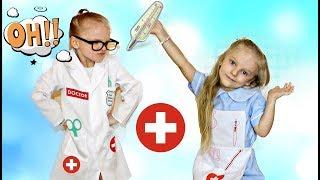 Вредный ДОКТОР !!! Проучила врача ! Видео для детей