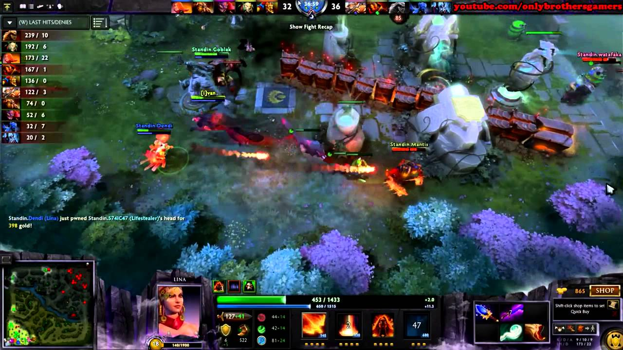 DOTA 2 Highlights: Naix Refresh Orb quyết tử Lina Refresh Orb