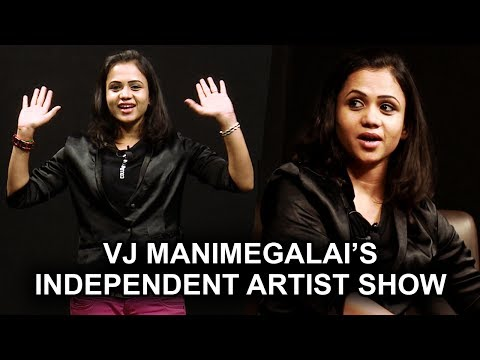 VJ Manimegalai Hosts Her First Show ..