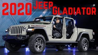 The All New 2020 Jeep Gladiator! First Look and My Opinions!