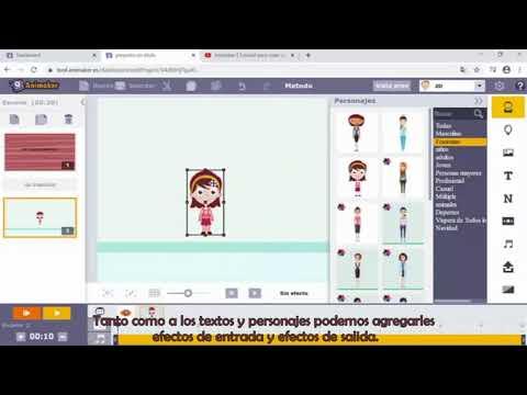 Conociendo la herramienta Animaker