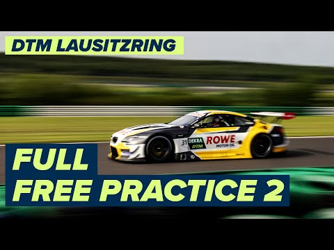 DTM ラウジッツリンク(ドイツ) フリープラクティス2のライブ配信動画