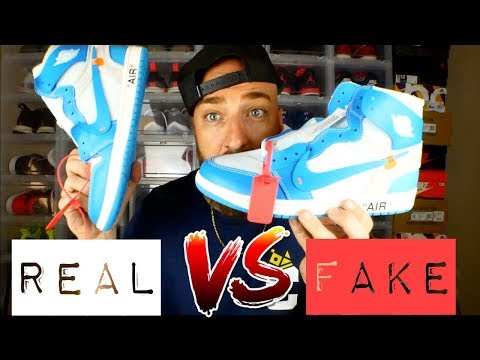 69c664b3c32aa8 Download REAL vs FAKE! Off White Jordan 1 UNC Review   On Feet! MP3