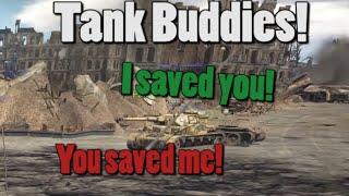 |War Thunder| Tank Buddies Episode 1 - You saved me!