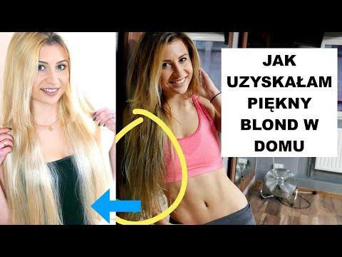 Maska na włosy farbowane blond włosy