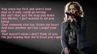 anouk - michel + lyrics!