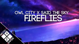 Gambar cover Owl City - Fireflies (Said The Sky Remix)
