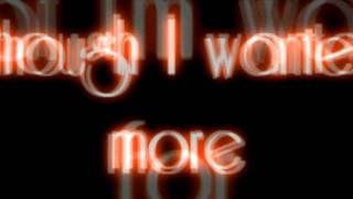 Evanescence- All That I'm Living For lyrics