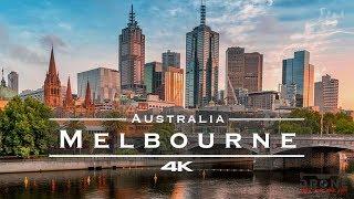 Melbourne, Australia 🇦🇺 - by drone [4K]