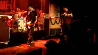 Every Time I Die Xmas show 2011: We'rewolf/ Floater Encore w/ security fight 12/16/11
