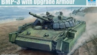 Kit Review: Trumpeter BMP 3 w/ Upgrade Armour