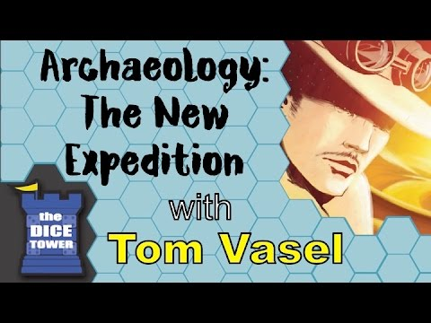Dice Tower Reviews: Archaeology: The New Expedition