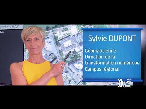 Video Ma Région, des talents : géomaticienne