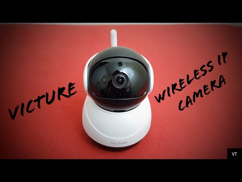 Victure Wireless Indoor 1080P IP Camera