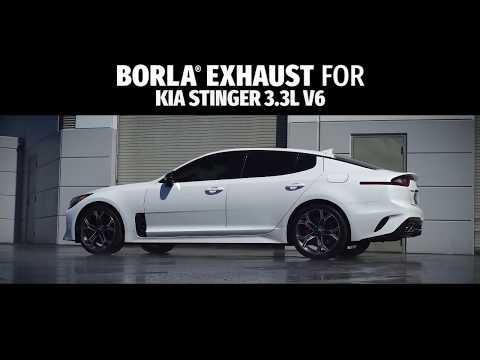 2018 2021 kia stinger cat back exhaust system s type part 140736