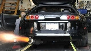 Supra backfire and burnout compilation 2