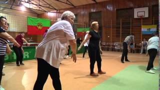 preview picture of video 'Aktywny senior LZS   Ludowe Zespoły Sportowe 2014 Przygodzice'