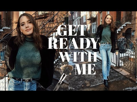 GET READY WITH ME   Current Everyday Hair & Makeup