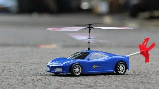 How to make a Flying Helicopter CAR