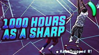 WHAT 1000 HOURS OF SHARP EXPERIENCE LOOKS LIKE! NBA 2K18