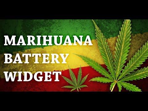 Video of Marijuana Leaf HD Battery