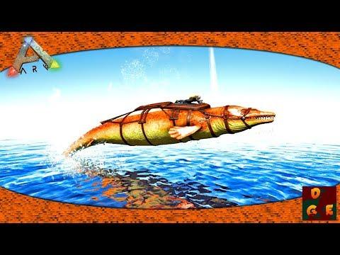 ARK - HOW TO TAME A BASILOSAURUS, The Anti Squid Tank - Ep