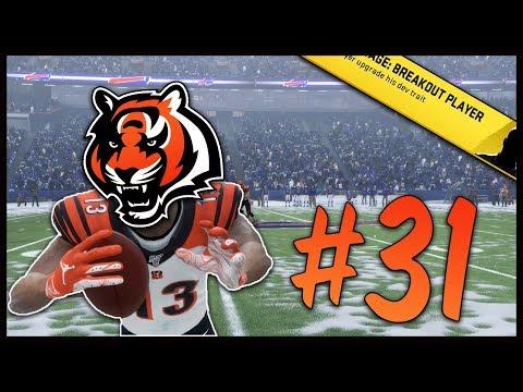 Massive Pick Six Gives us Life! | Madden 20 Cincinnati Bengals Franchise #31