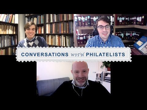 Conversations with Philatelists, Episode 34