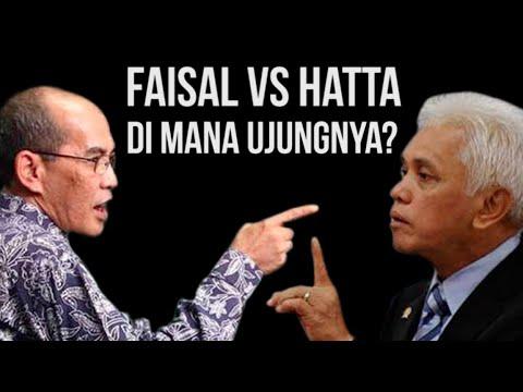 Faisal VS Hatta, Di Mana Ujungnya?