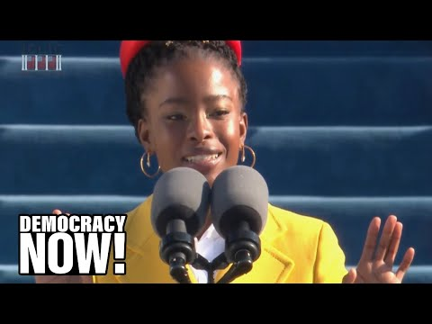 """The Hill We Climb"": Watch Breathtaking Poem by Amanda Gorman, Youngest Inaugural Poet in US History"