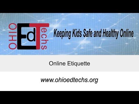 Online Etiquette - YouTube
