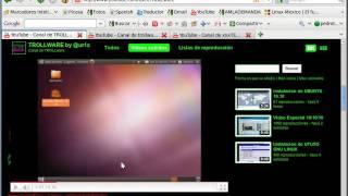 Adobe Flash Player solución de problemas con vídeos de Youtube - Ubuntu
