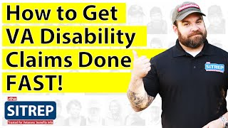 How to Get VA Disability Claims Done Fast