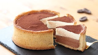 チョコレートムース・タルトの作り方 Chocolate Mousse Tart|HidaMari Cooking