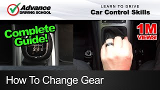 How To Change Gear  |  Learn to drive: Car control skills