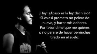 Ley Del Hielo   Canserbero. (Letra)