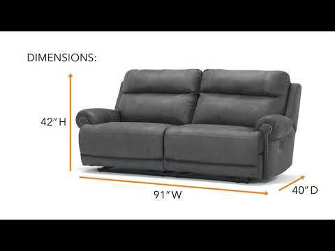 Austere 3840147 2 Seat Reclining Power Sofa