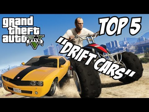 GTA 5 - Top 5 Drift Cars!! (GTA V Drift Cars!!)