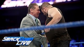 Kevin Owens brutally attacks Mr. McMahon: SmackDown LIVE, Sept. 12, 2017 | Kholo.pk