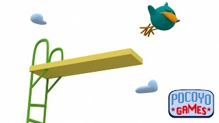 Pocoyo Games: Salto de trampolín