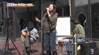 馬車道ショートパフォーマンス2010年3月27日