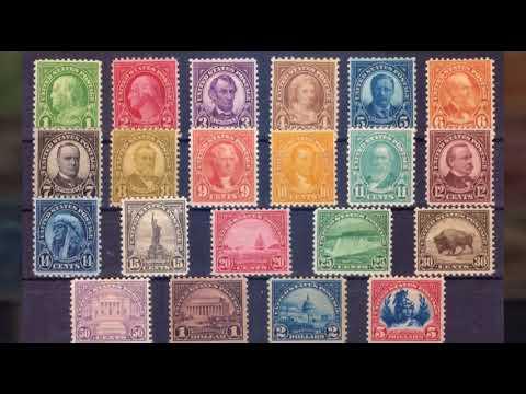 Дорогие почтовые марки онлайн видео