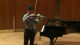 Kevin Zhu performs Ysaÿe